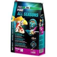 JBL ProPond All Seasons M Всесезонный корм для средних кои и других прудовых рыб
