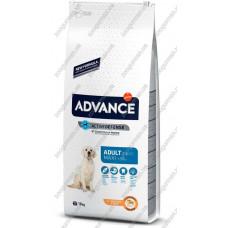 Advance Maxi Adult для взрослых собак крупных пород, 18 кг