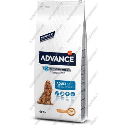 купити Advance Medium Adult для взрослых собак средних пород, 18 кг в Одеси