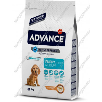купити Advance Medium Puppy для щенков средних пород, 18 кг в Одеси