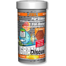 JBL GranaDiscus Основной корм премиум-класса в форме гранул для дискусов, 250 мл