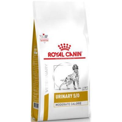 купити Royal Canin DOG Urinary S/O MODERATE CALORIE корм для собак, схильних до зайвої ваги, при захворюваннях нижніх сечовивідних шляхів в Одеси