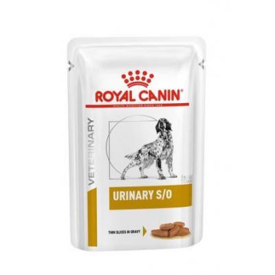 купити Royal Canin URINARY S/O (пауч)  для собак при мочекаменной болезни в Одеси