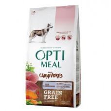 Optimeal (Оптимил) беззерновой сухой корм для взрослых собак всех пород утка с овощами