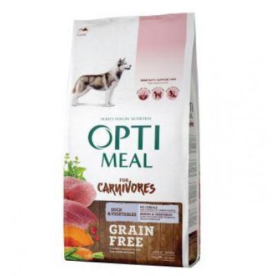 купити Optimeal (Оптимил) беззерновой сухой корм для взрослых собак всех пород утка с овощами в Одеси
