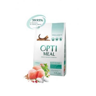 купити Optimeal (Оптимил) сухой корм для котят курица в Одеси