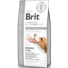 Brit Veterinary Diet Dog Grain Free Joint & Mobility беззерновая диета при заболеваниях суставов и нарушениях подвижности