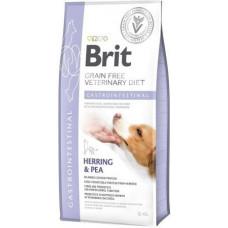 Brit Veterinary Diet Dog Grain Free Gastrointestinal беззерновая диета при острых и хронических гастроэнтеритах