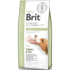 Brit Veterinary Diet Dog Grain Free Diabetes беззерновая диета при диабете