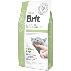 Brit Veterinary Diet Cat Grain free Diabetes беззерновая диета при диабете