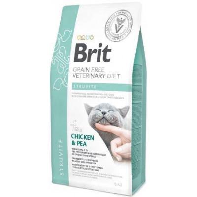 купити Brit Veterinary Diet Cat Grain free Struvite беззерновая диета при струвитном типе МКБ в Одеси