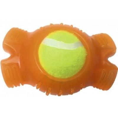 Croci Вибуховий тенісний м'яч, гума / силікон, 12,4х8,3х6,4см
