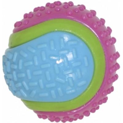 Croci серия SPIKY Мяч теннисный цветной, высокопрочная резина,8 см