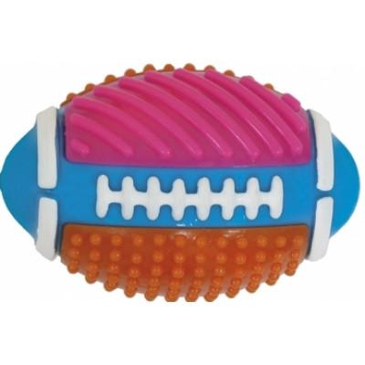 Croci серия SPIKY Мяч регбийный цветной, высокопрочная резина,11 см