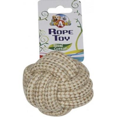 купити Croci ECO канат грейфер плетеный мяч котон/сизаль,6 см в Одеси
