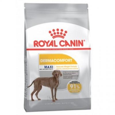 купити Royal Canin MAXI DERMACOMFORT для собак, склонных к кожным раздражениям и зуду в Одеси