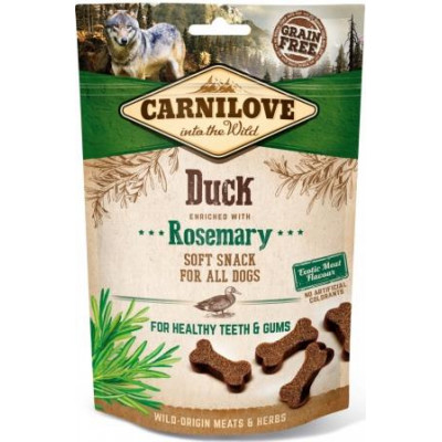 купити Carnilove Dog Duck & Rosemary лакомство для собак, утка и розмарин  200 гр в Одеси
