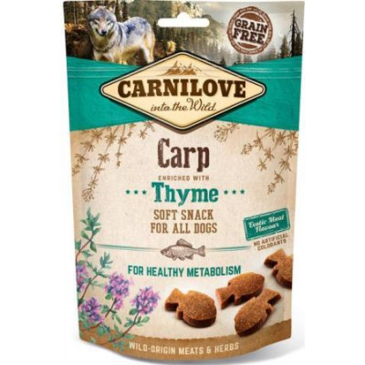 Carnilove Dog Carp & Thyme лакомство для собак,карп и тимьян  200 гр