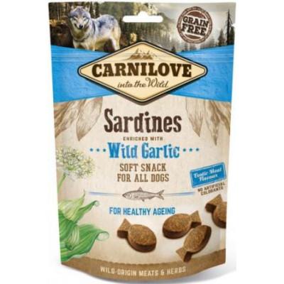 купити Carnilove Dog Sardines & Wild Garlic лакомство для собак,сардина и чеснок  200 гр в Одеси