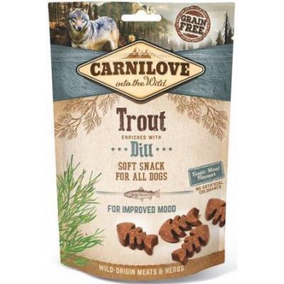 купити Carnilove Dog Trout & Dill лакомство для собак,форель и укроп 200 гр в Одеси
