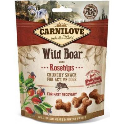 купити Carnilove Dog Wild Boar & Rosehips лакомство для собак (дикий кабан и шиповник) 200 гр в Одеси