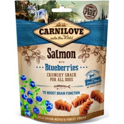 купити Carnilove Dog Salmon & Blueberries лакомство для собак,лосось и черника 200 гр в Одеси
