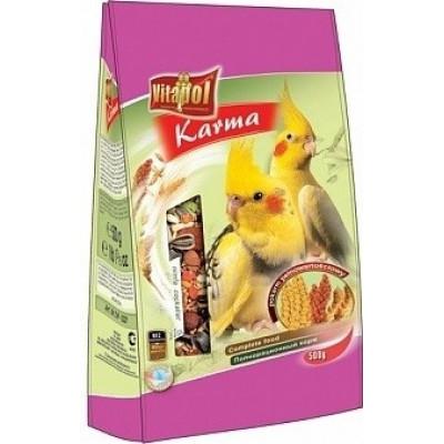 купити Vitapol Karma полнорационный корм для нимф,мягкая упаковка, 500 гр в Одеси