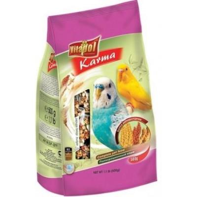 купити Vitapol Karma полнорационный корм для волнистых попугаев,мягкая упаковка, 500 гр в Одеси