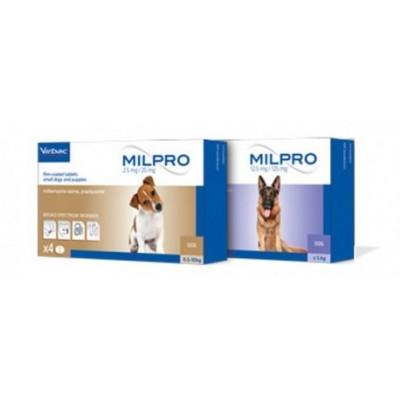 купити Milpro (Мілпро) - протипаразитний препарат для собак і цуценят, 1 таблетка в Одеси