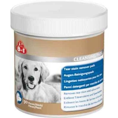 купити 8in1 Excel для собак Диски влажные для удаления пятен от слез и слюны 90 шт в Одеси
