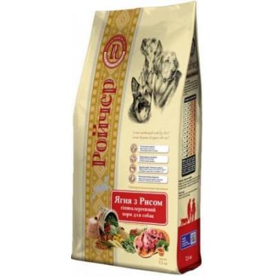 Ройчер для собак,ягненок с рисом 7,5 кг