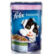 Felix Fantastiс Форель и зеленые бобы в желе, 100 гр