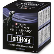 PRO PLAN VETERINARY DIETS FORTIFLORA CANINE PROBIOTIC для нормализации баланса кишечной микрофлоры,30*1г