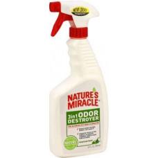 8in1 Nature's Miracle Уничтожитель плям і запахів для собак 709 мл