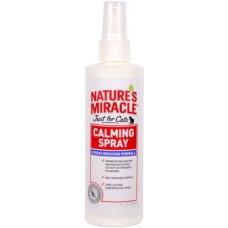 8in1 Nature's Miracle No Stress Calming Spray Спрей для кошек Успокаивающий Антистресс 236 мл
