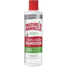 8in1 Nature's Miracle Stain & Odor Remover Універсальний знищувач плям і запахів для кішок, 473 мл