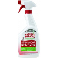 8in1 Nature's Miracle Stain and Odor Melon Burst Уничтожитель плям і запахів для кішок Диня, 946 мл