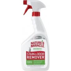8in1 Nature's Miracle Stain Odor Remover Універсальній знищувач плям і запаху кішок, 946 мл