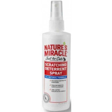 8in1 Natures Miracle No Scratch Deterrent Spray Спрей для кішок запобігає дряпання, 236 мл