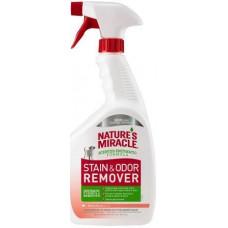 8in1 Nature's Miracle Stain & Odor Remover Знищувач плям і запахів для собак спрей Диня, 946 мл