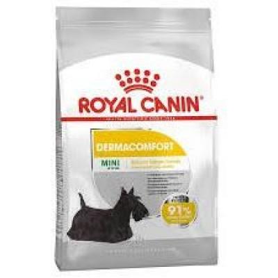 Royal Canin MINI DERMACOMFORT для собак мелких пород с раздраженной и зудящей кожей