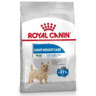Royal Canin Mini Light Weight Care для собак мелких пород, склонных к набору веса