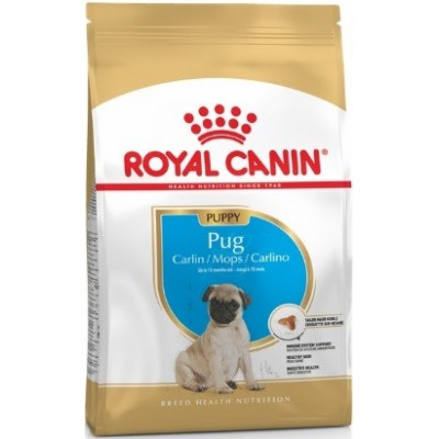купити Royal Canin Pug Puppy Junior корм для щенков породы Мопс в Одеси