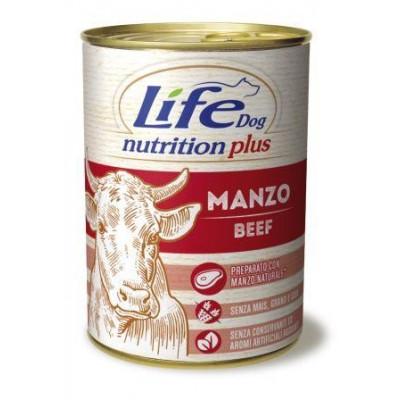 "купити Life Dog ""Nutrition Plus"" Шматочки яловичини 400гр в Одеси"