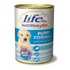 "Life Dog ""Nutrition Plus"" Puppy курица с рисом 400гр"