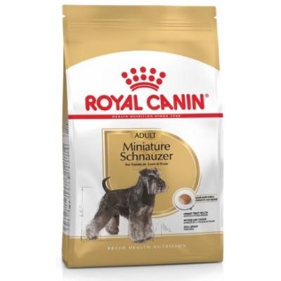 купити Royal Canin SCHNAUZER ADULT для собак породы Миниатюрный Шнауцер старше 10 месяцев в Одеси