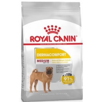 купити Royal Canin Medium DERMACOMFORT при раздражениях и зуде в Одеси