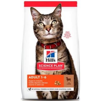 купити Hill`s (Хиллс) NEW Science Plan Feline NEW Adult Optimal Care ягненок в Одеси
