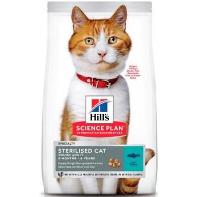 Hill`s (Хиллс) NEW Science Plan Sterilised Cat Adult с тунцом