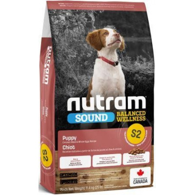 купити NUTRAM S2 NEW Sound Balanced Wellness Puppy, холистик корм для щенков в Одеси